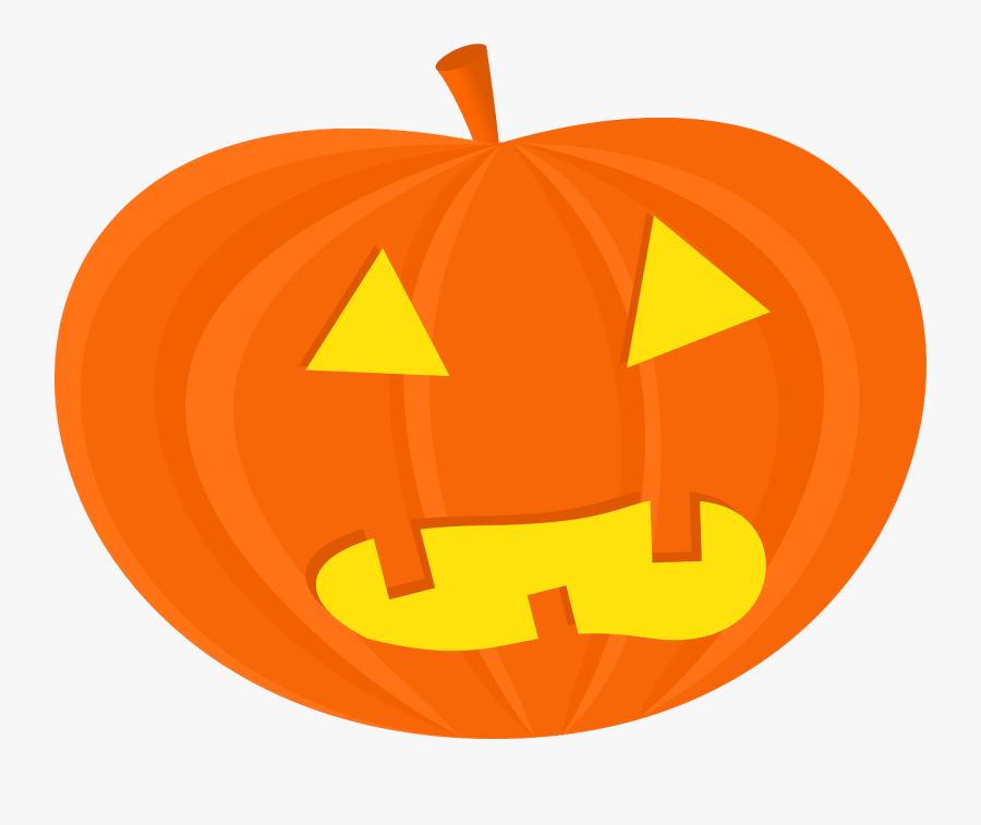 Halloween Pumpkin Clipart Black White - Clip Art Jack O Lantern, Transparent Clipart