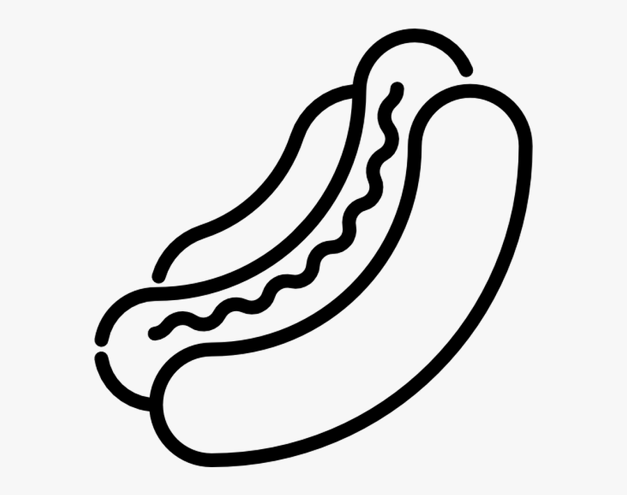 Free Download Hot Dog Clipart Hot Dog Computer Icons Hot Dog Clipart Black And White Free Free Transparent Clipart Clipartkey