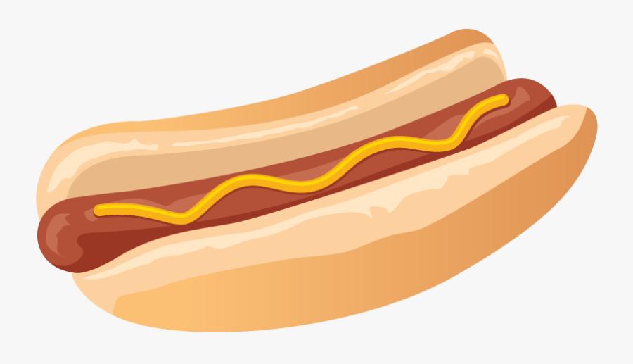 Hot Dog Eating Contest %%sep%% Brockport - Clipart Transparent Background Hot Dog, Transparent Clipart
