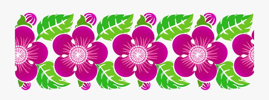 Watercolor Floral Clipart, Digital Flowers Png Flowers - Floral Decoration Clipart, Transparent Clipart