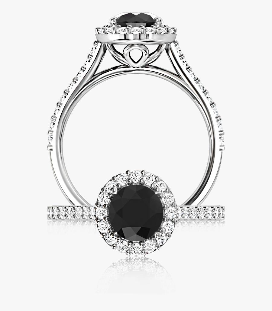 Transparent Wedding Rings Clipart Png - Diamond, Transparent Clipart