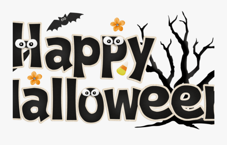 Happy Halloween Jpg Stock Font Techflourish Collections - Halloween Clipart, Transparent Clipart