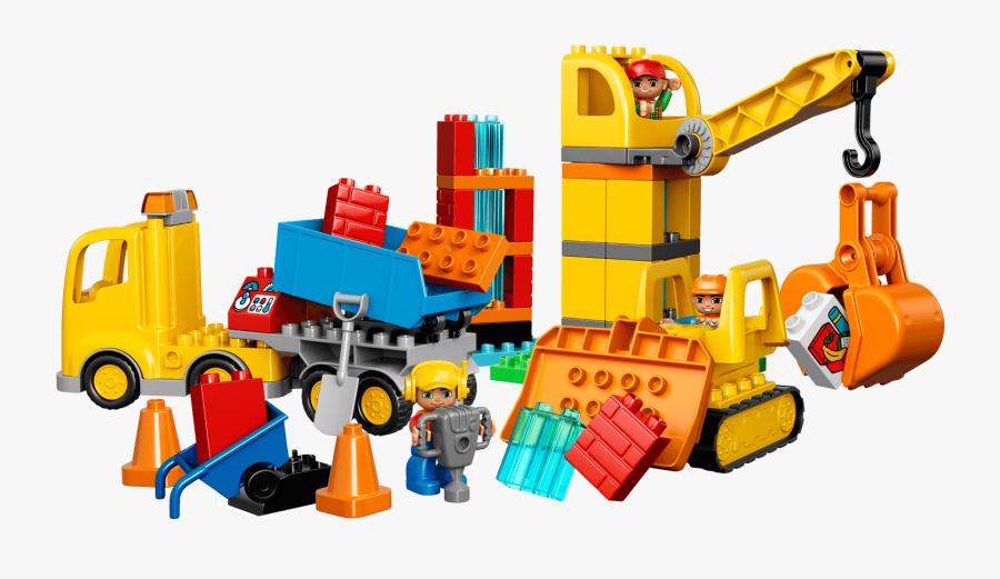 Lego Clipart Duplo - Lego Duplo 10813, Transparent Clipart