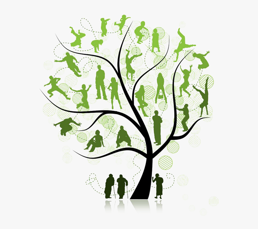 Family Tree Png Pic - Family Reunion Tree Png, Transparent Clipart