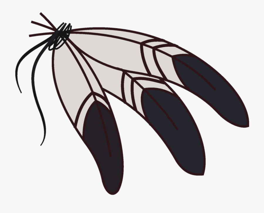 Indian Feather Clipart Kid - First Nation Eagle Feather, Transparent Clipart