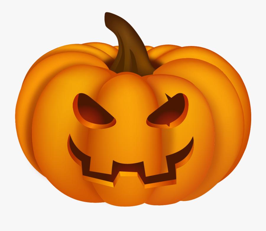 Halloween Clipart No Background - Halloween Pumpkin Png, Transparent Clipart