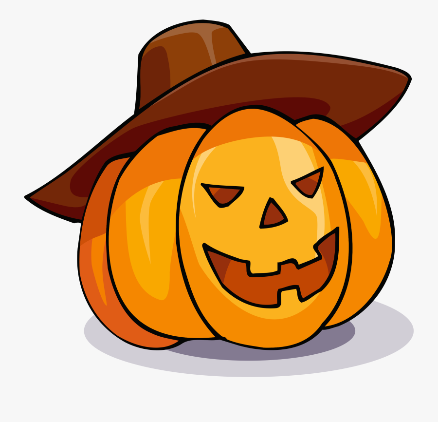 Happy Halloween Clipart - Jack O Lantern Animated, Transparent Clipart