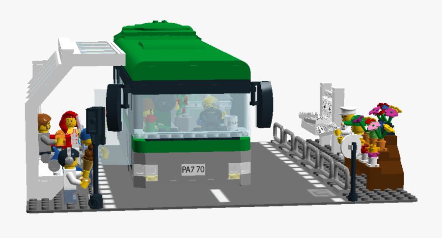 Lego Ideas - Bus Station Clipart Png, Transparent Clipart