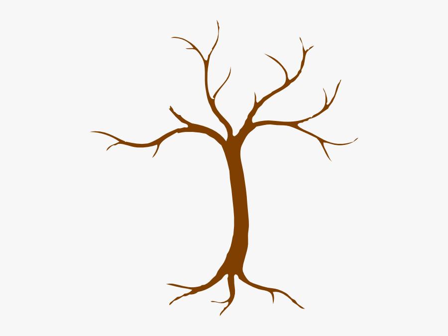 Tree Clip Art At Clker - Clipart Tree Trunk, Transparent Clipart