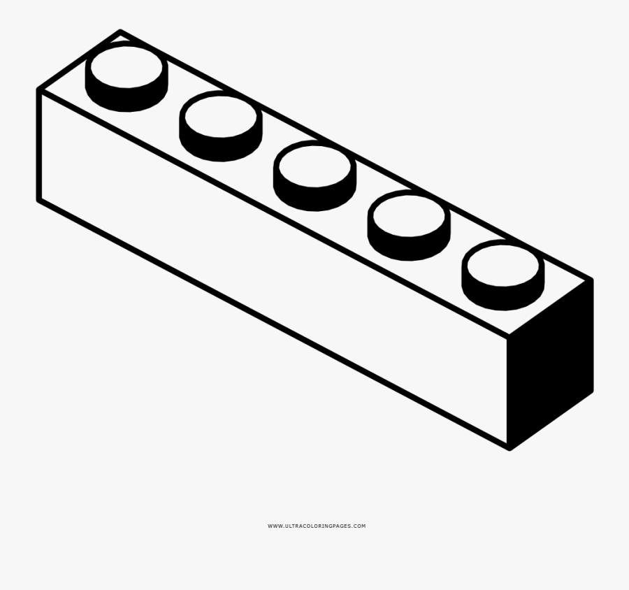 Lego Brick Coloring Page - Clipart Free Lego Brick Clipart, Transparent Clipart