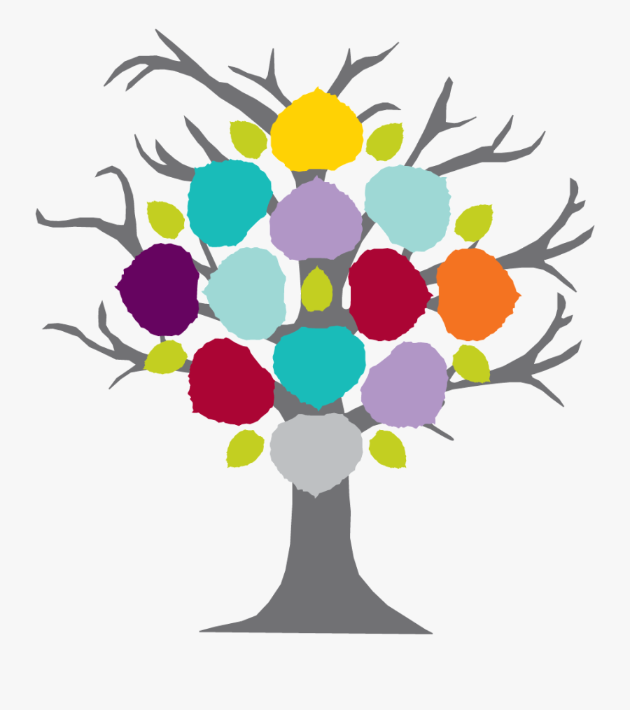 Growing Down Family Tree Clipart - Family Tree Is 12, Transparent Clipart
