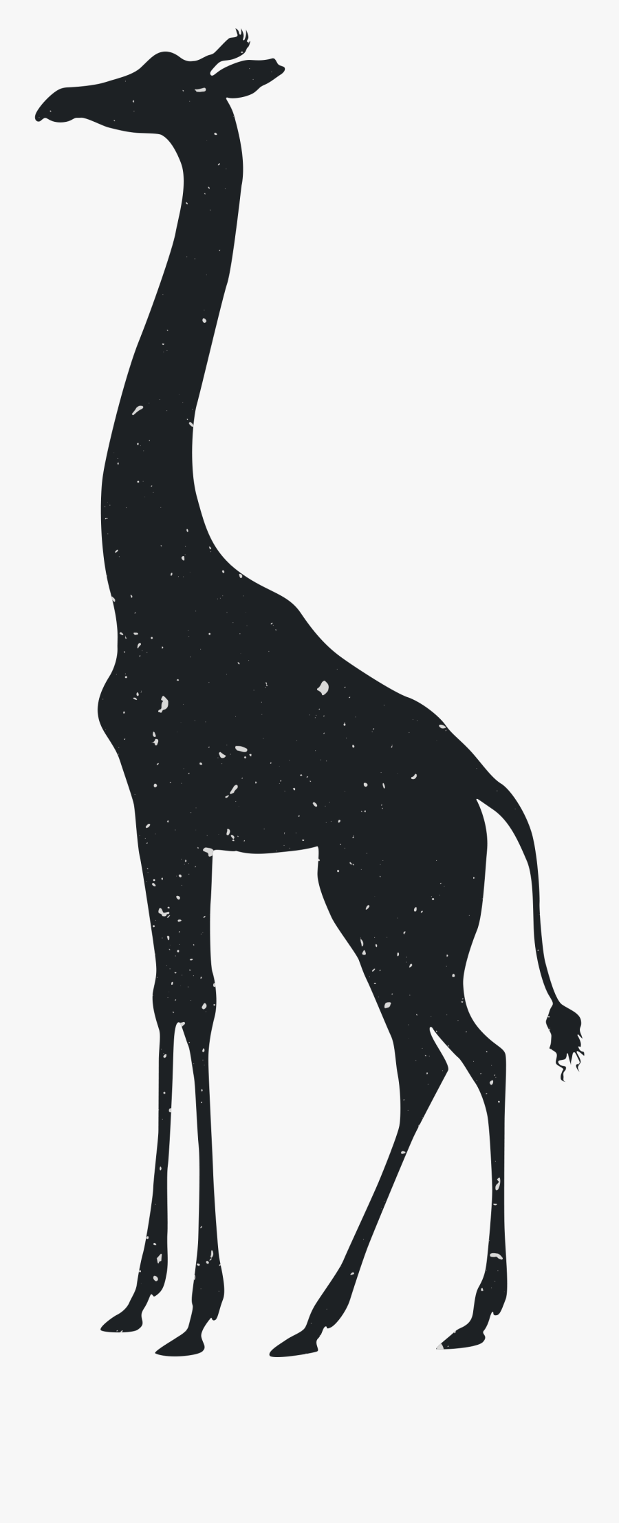 Clip Art Collection Of Free Transparent - Free Silhouette Zoo Animals, Transparent Clipart
