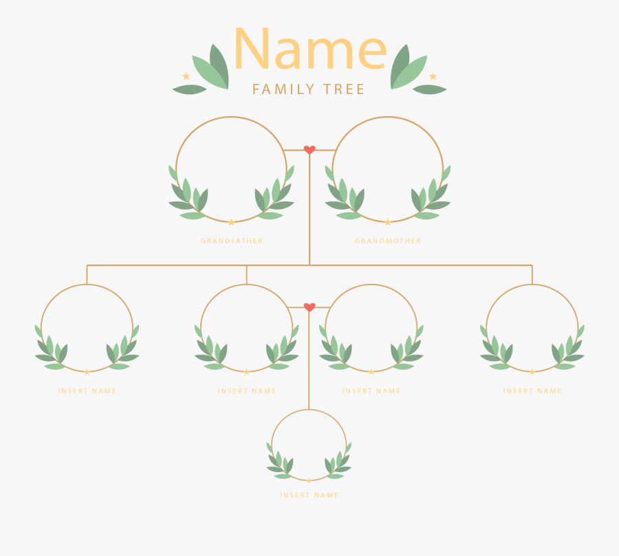 Family Tree Png Photos - Family Tree Clipart Names, Transparent Clipart