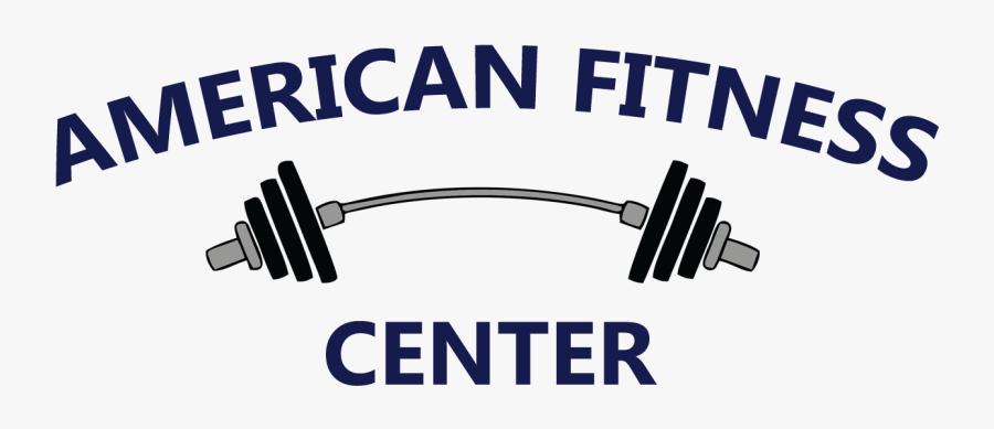 American Fitness Center - American Fitness Center Logo, Transparent Clipart