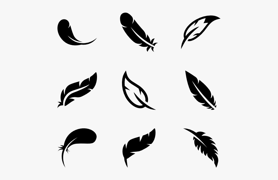 Clip Art Feather Icons Free Bird - Feather Icon Free, Transparent Clipart