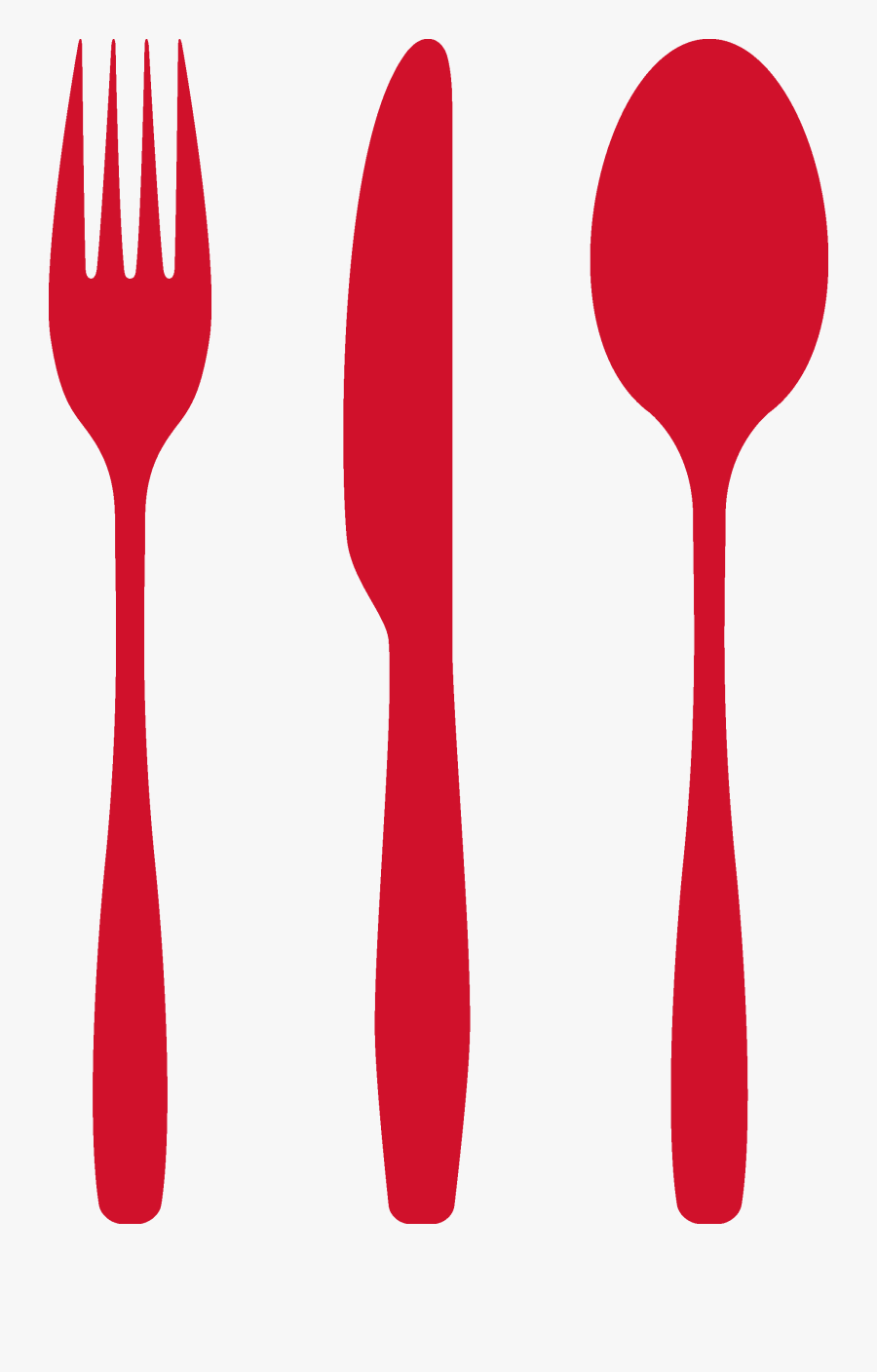 Food Beverage Service Insurance - Red Spoon And Fork Png, Transparent Clipart