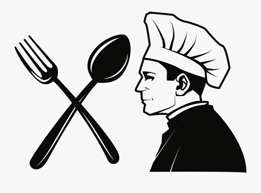 Spoon Clipart Catering - Fork And Spoon Logo, Transparent Clipart