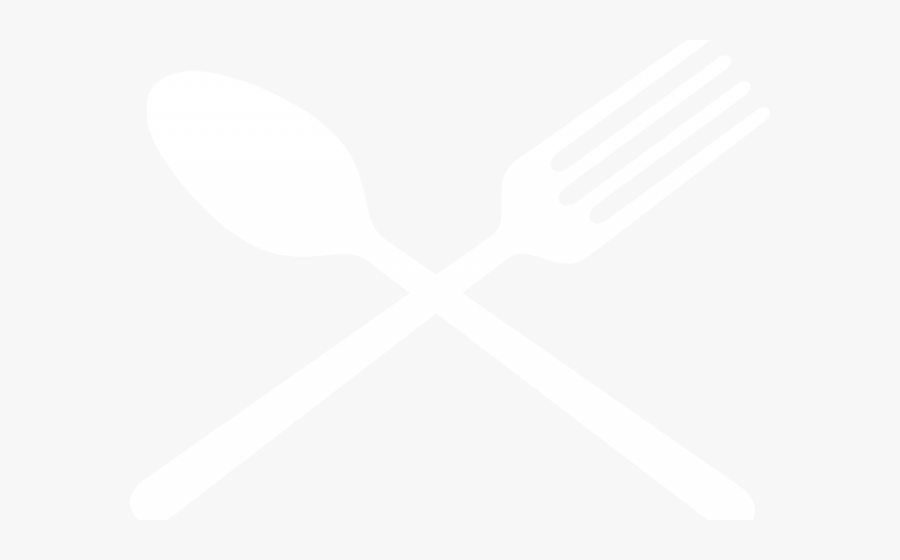 Spoon And Fork Clipart - Crossed Spoon And Fork Transparent Background, Transparent Clipart