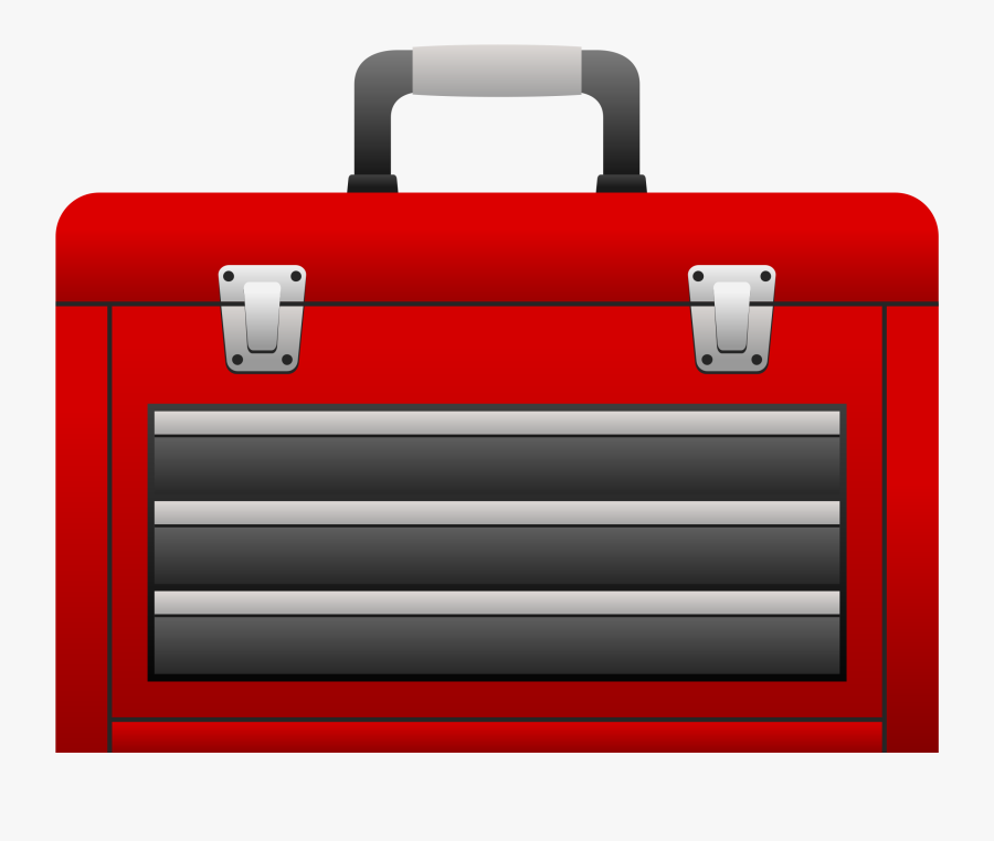 Toolbox With Tools Clipart - Tool Box Gif Png, Transparent Clipart