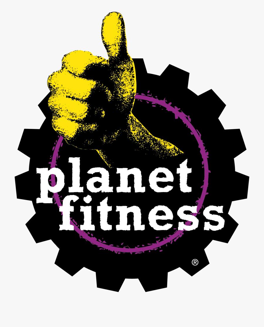 Planet Fitness Logo, Transparent Clipart