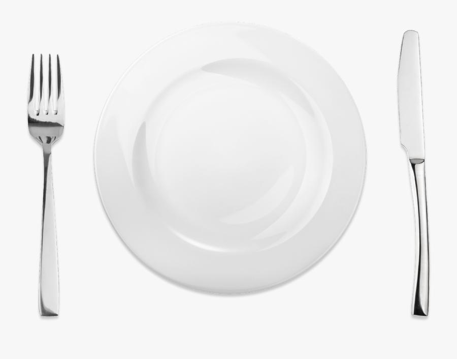 Clip Art Knife Coeur D Alene - Plate And Fork Png, Transparent Clipart