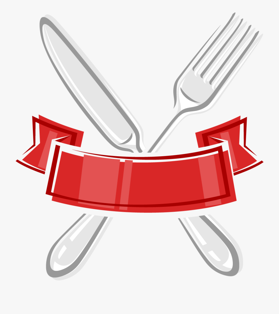 Transparent Silverware Clipart - Spoon And Fork Clipart, Transparent Clipart