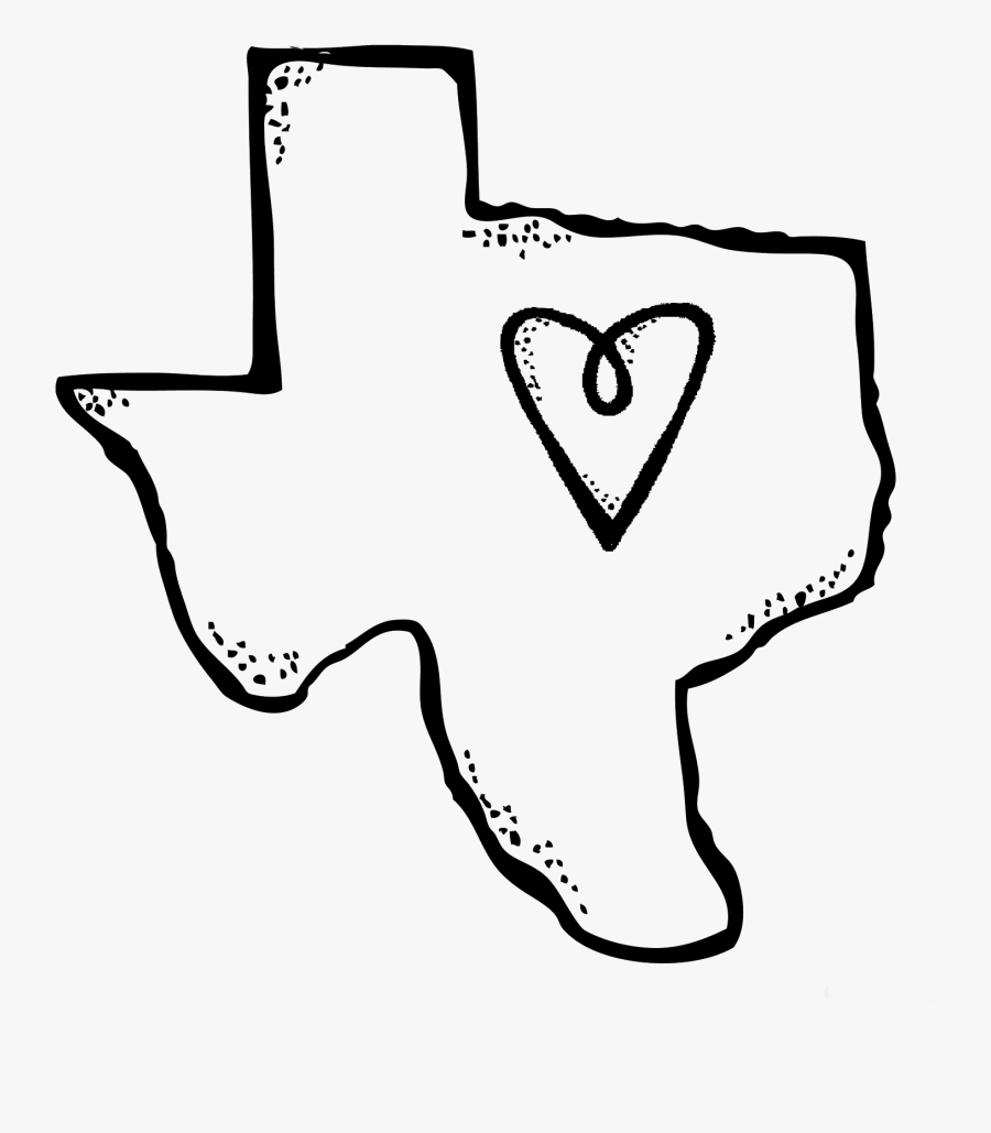 Transparent Texas Clipart Png - Texas Clipart Black And White, Transparent Clipart