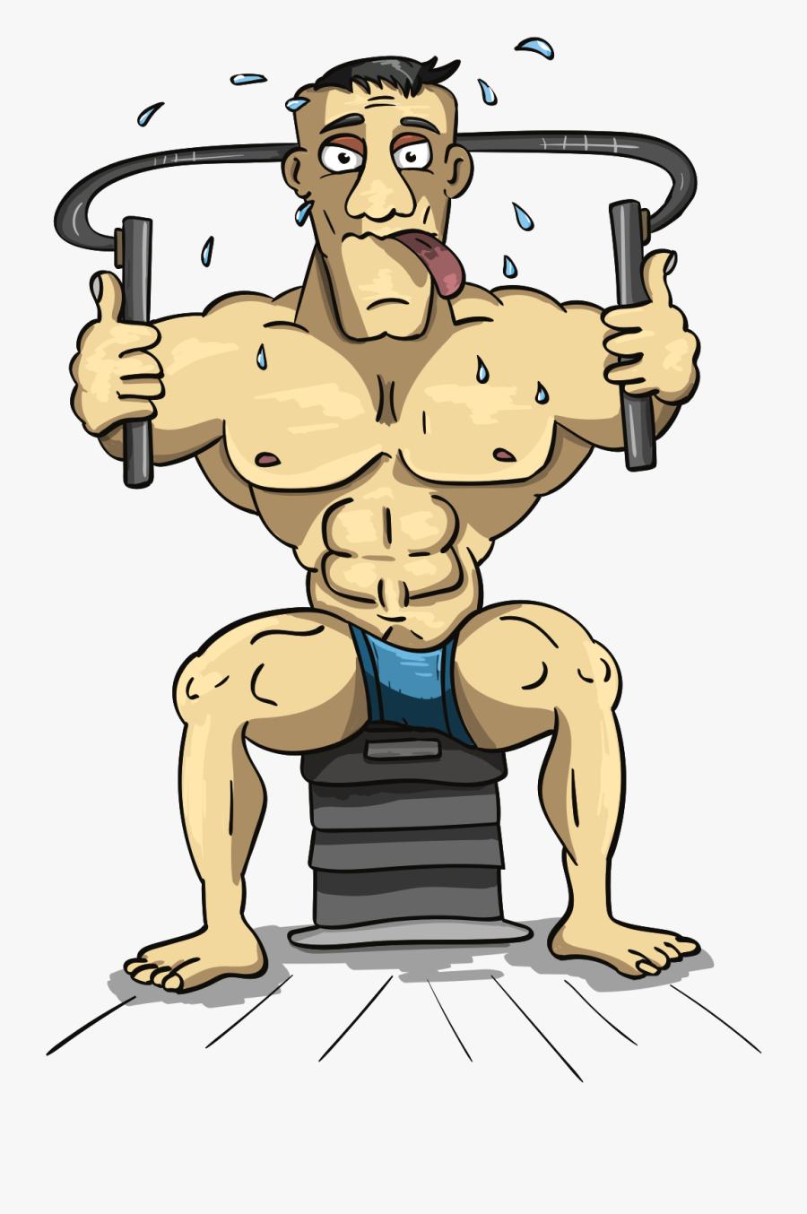 Beefy, Dude, Jock, Bodybuilder, Beefcake - Поздравление С Днем Рождения Качка, Transparent Clipart