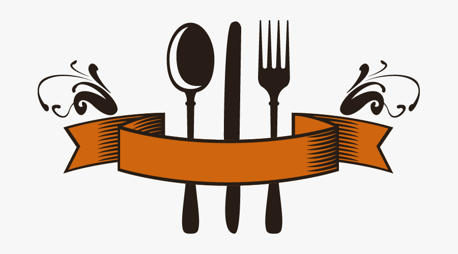 Abstract Fork Png - Restaurant Spoon And Fork, Transparent Clipart
