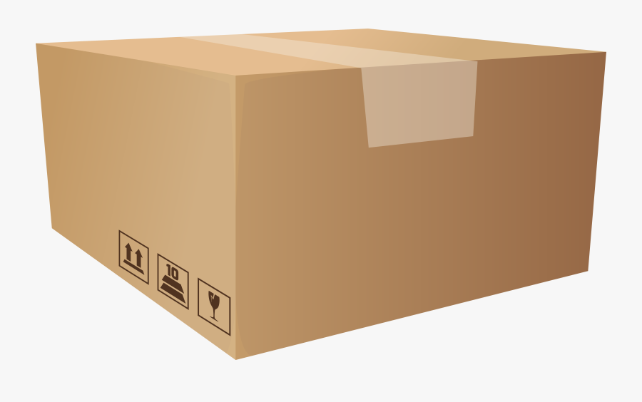 Packaging Box Png Clip Art - Package Box Png, Transparent Clipart