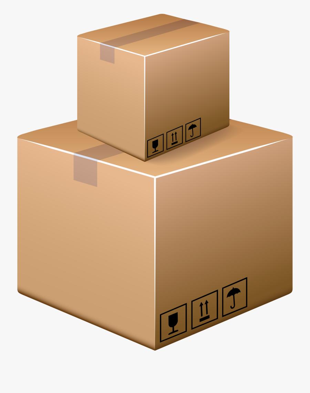 Cardboard Boxes Png Clip Art, Transparent Clipart