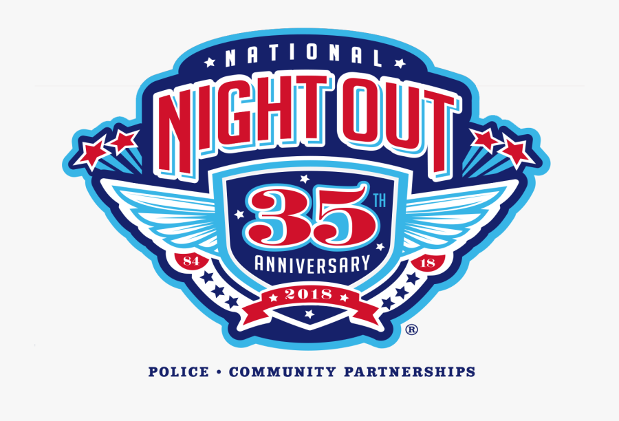 National Night Out - National Night Out 2018 Houston, Transparent Clipart