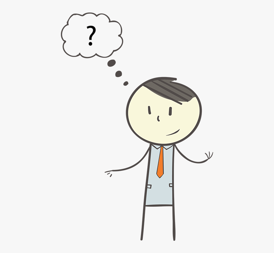 Question Mark Clipart Money - Person Asking A Question Icon, Transparent Clipart