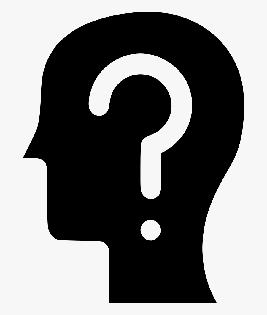 Transparent Question And Answer Clipart - Person With Question Mark Face, Transparent Clipart