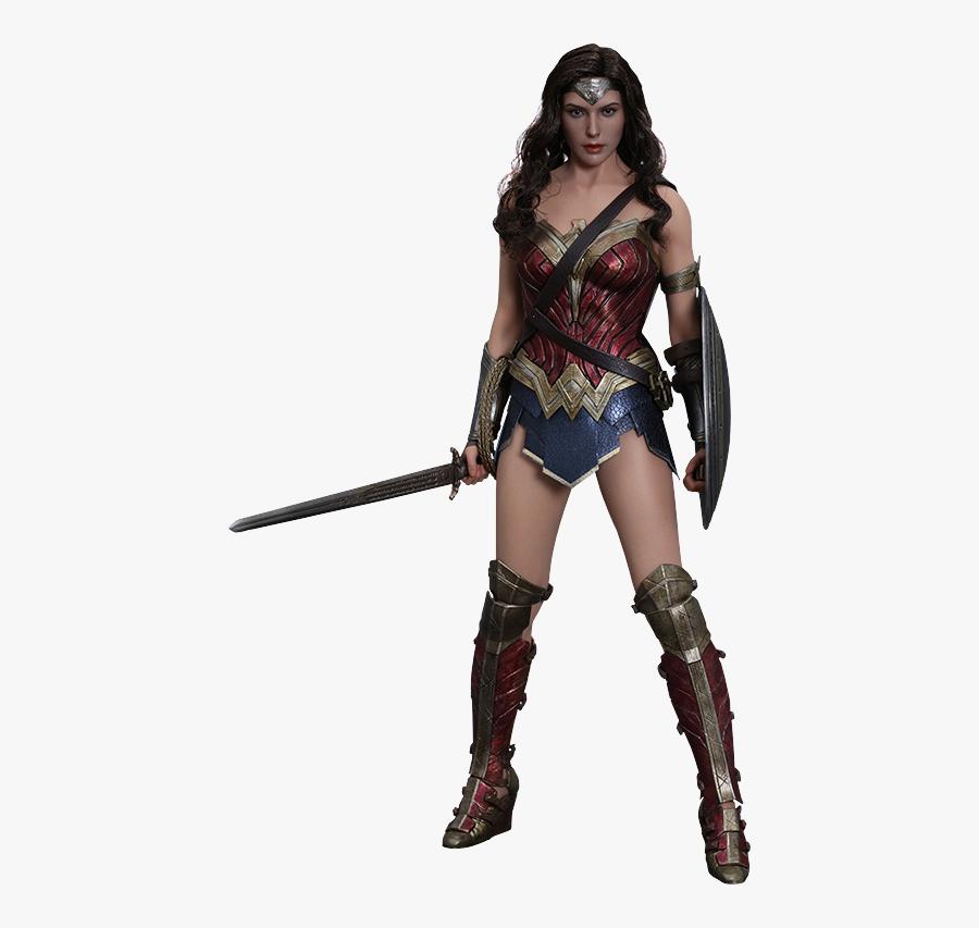 Hot Toys Wonder Woman Sixth Scale Figure - Wonder Woman Figure, Transparent Clipart