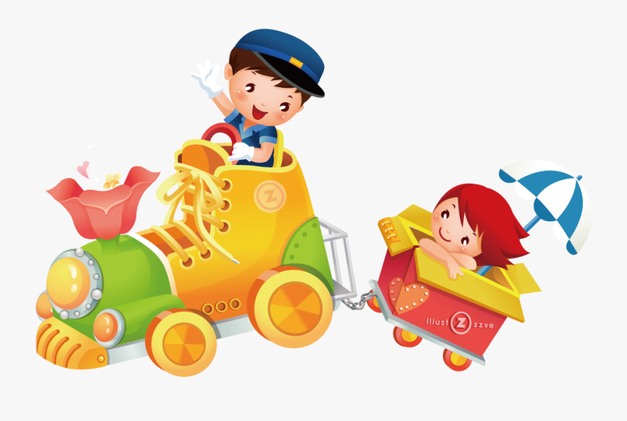 Baby Boy Toys Clipart - Transparent Kids Toys Png, Transparent Clipart