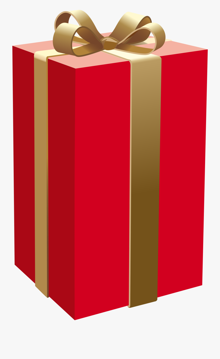 Gift Box With Money Coming Out Clipart - Red Gift Box Png, Transparent Clipart
