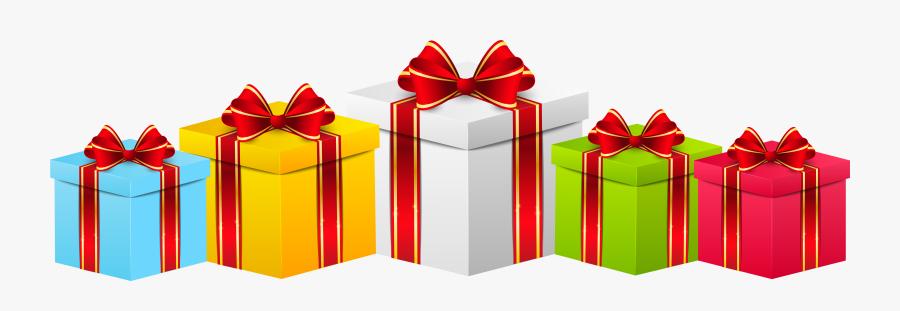 Boxes Transparent Png Clip - Birthday Gift Transparent Background, Transparent Clipart