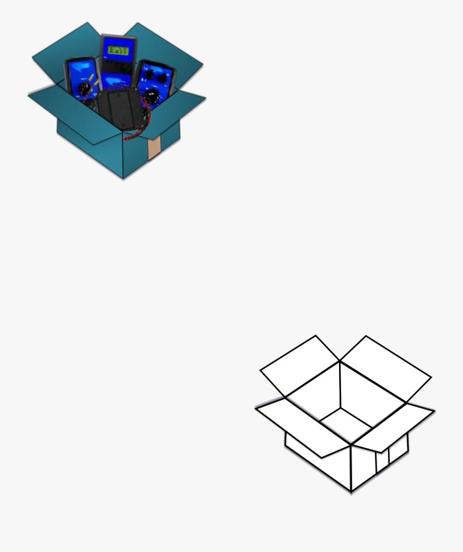 Box Clipart Clip Arts - Graphic Design, Transparent Clipart