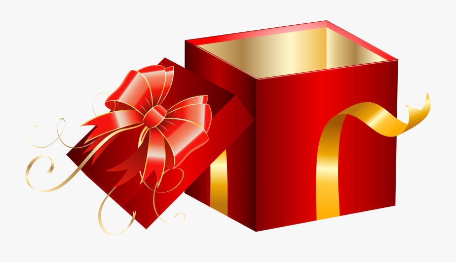 Great Clipart Present Gift Box Graphics Illustrations - Opened Gift Box Png, Transparent Clipart