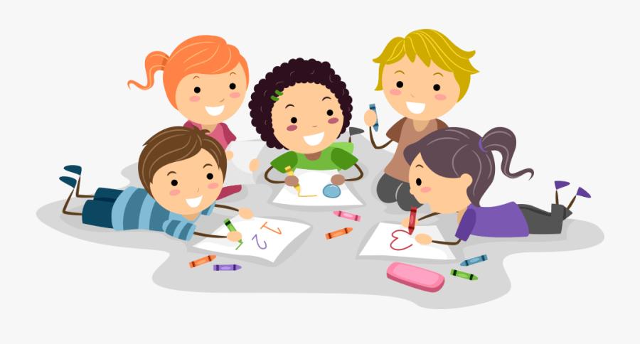 Planet Kids - Kids Drawing Cartoon, Transparent Clipart