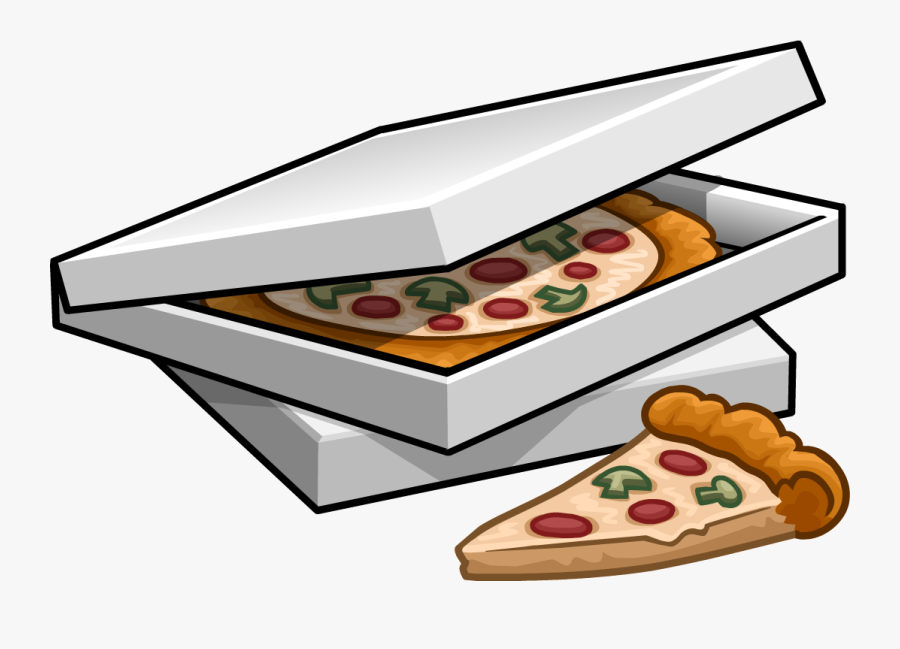 Box Clipart Pizza - Pizza Box Clipart, Transparent Clipart