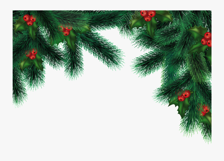 Clip Art Christmas Free Png Download - Green Christmas Decoration Png, Transparent Clipart