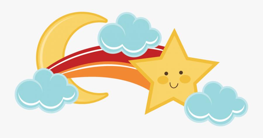 Transparent Star Png - Cute Shooting Stars Clip Art, Transparent Clipart