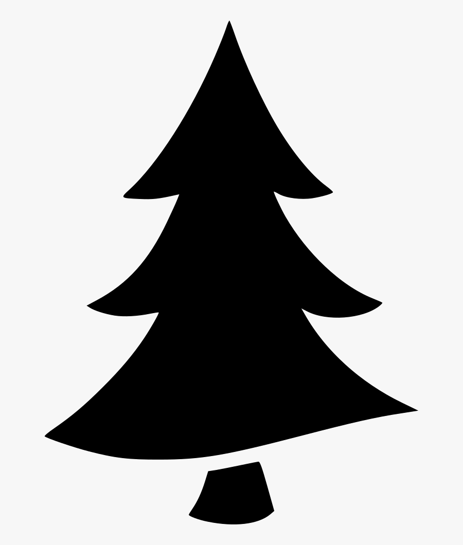 Tree Pine Forest Origin Comments - Silhouette Pine Tree Clipart, Transparent Clipart