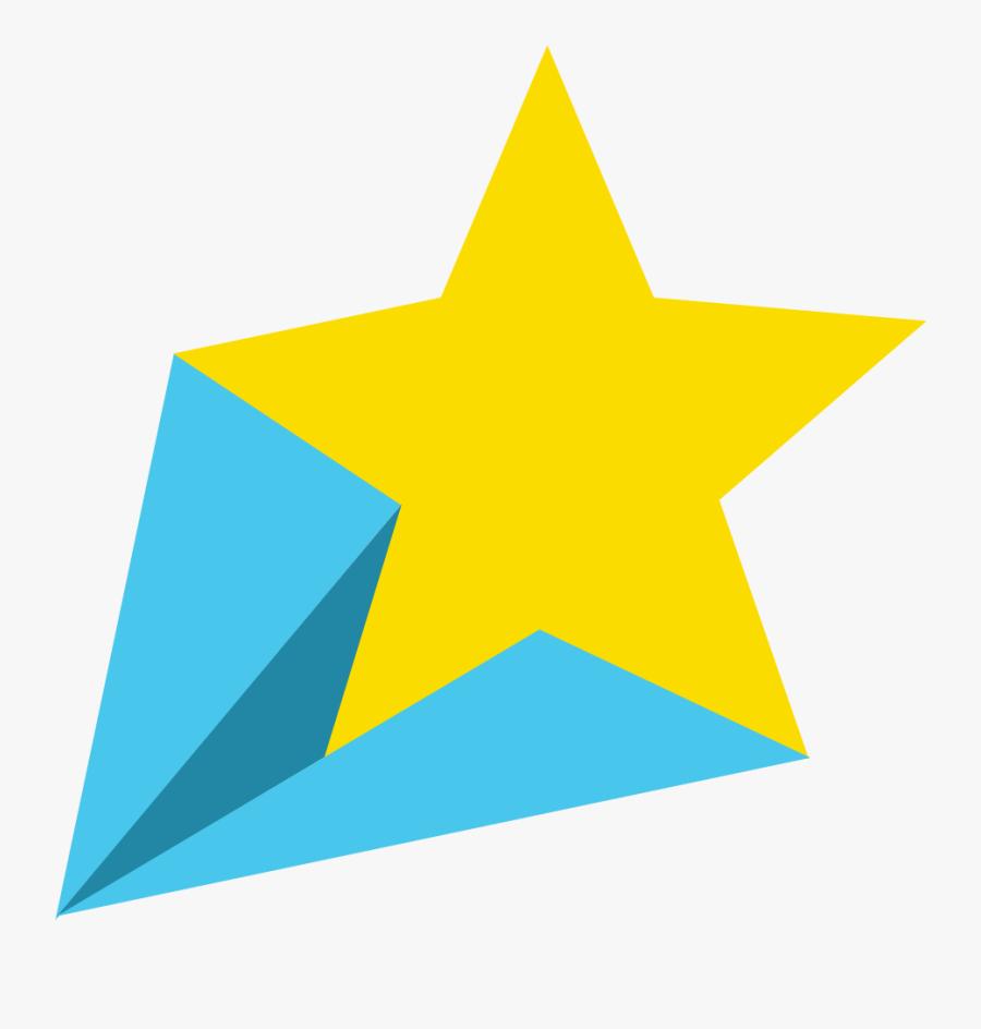 Clip Art Shooting Star - Shooting Star Stars Clipart, Transparent Clipart