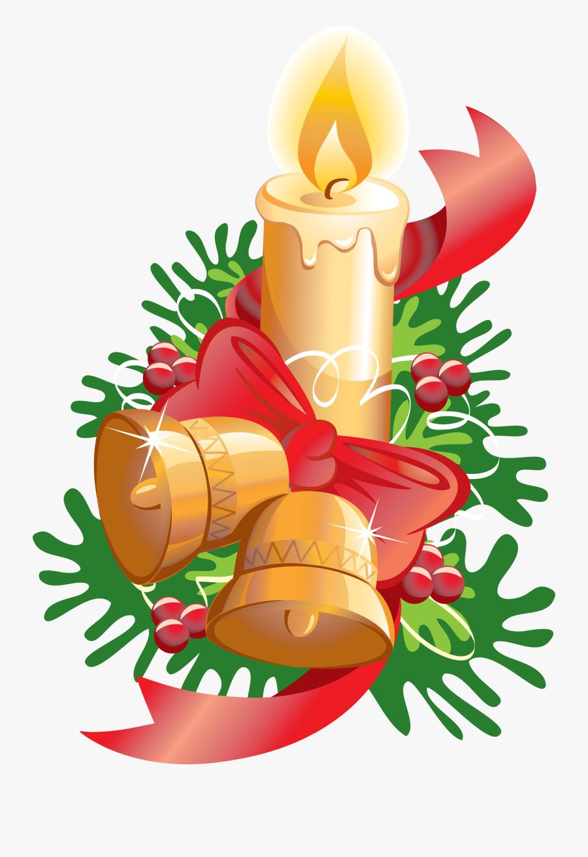 - Christmas Bells Png Clipart , Png Download - Gambar Lilin Dan