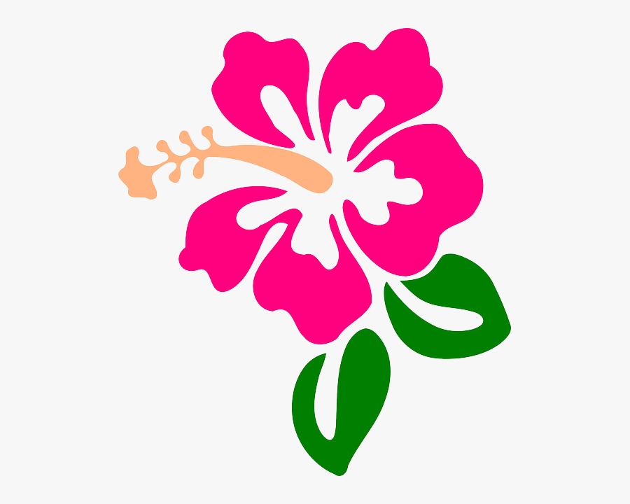 Hibiscus Clipart Moana - Hibiscus Clip Art, Transparent Clipart