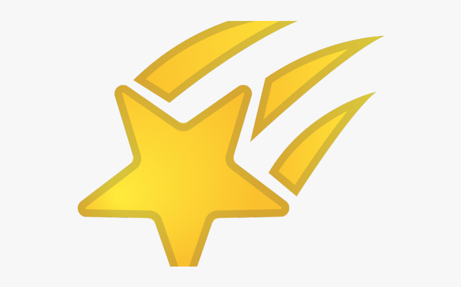 Shooting Star Icon - Shooting Stars Icon Transparent, Transparent Clipart
