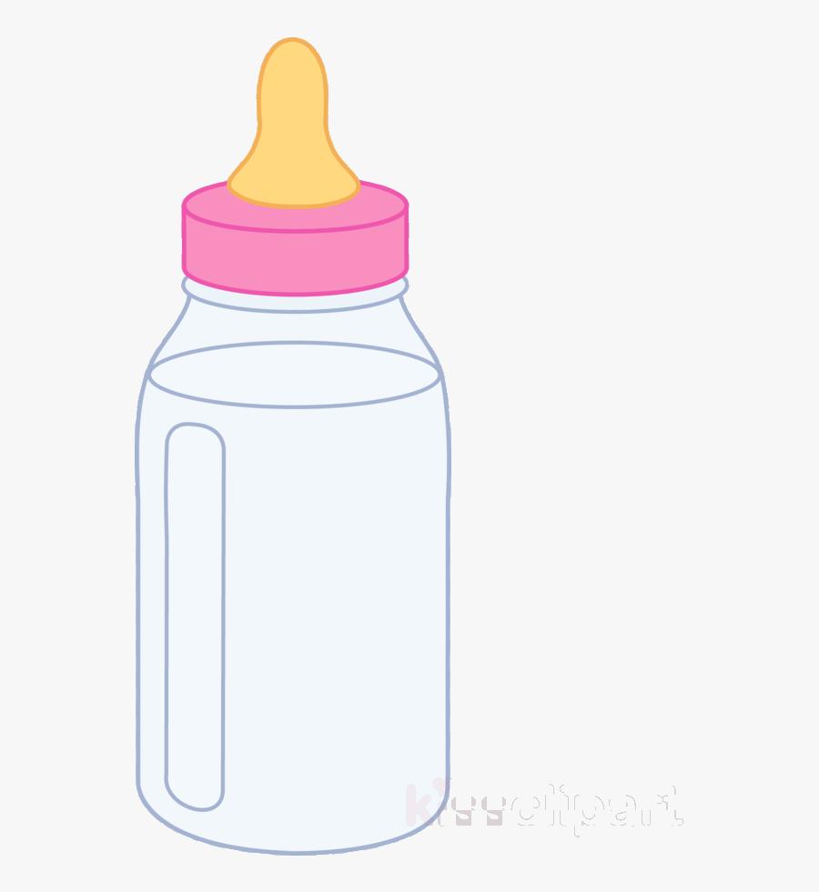 Baby Bottle Pink Clipart Bottles Infant Clip Art Transparent - Pink Baby Bottle Clipart, Transparent Clipart